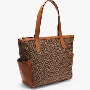Fossil Mimi Leather Shopper Bag